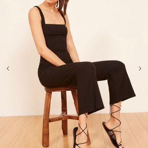 Reformation black jumpsuit! SIZE SMALL